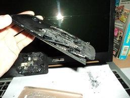 เกิดเหตุ Zenfone 5 ระเบิดกลางดึกขณะชาร์จแบตไว้