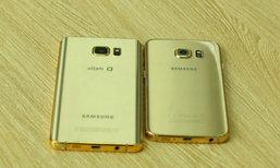 ผู้ผลิตของ Brand หรูจากเวียดนามทำ Galaxy S6 edge+ และ Galaxy Note 5 เคลือบทองคำแท้สุดหรูออกขาย