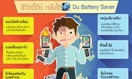 """โบกมือลาปัญหาแบตเตอรี่บนมือถือ ด้วยแอปดีๆ """"DU Battery Saver"""""""