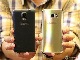 เปรียบเทียบ Samsung Galaxy Note 5 vs Samsung Galaxy Note 4 แตกต่างกันอย่างไรบ้าง?