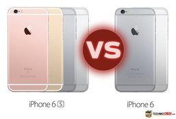 เปรียบเทียบสเปค iPhone 6S vs iPhone 6 แตกต่างกันอย่างไรบ้าง ?
