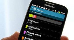 Galaxy S4 พื้นที่เก็บข้อมูลที่ไม่เป็นจริง ?