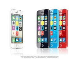 iPhone โลว์คอสใหม่ล่าสุด แบบหลากสีที่มาพร้อม iOS 7