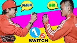 ชมการเล่นเกม 1-2-Switch ระหว่าง บี้ เดอะสกา VS ปลื้ม VRZO