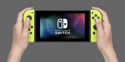 ชมภาพชัดๆ Joy-con สีเหลือง ของ Nintendo Switch