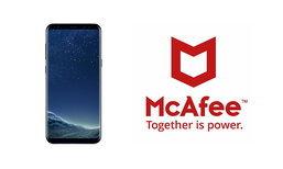 รู้หรือไม่ Samsung Galaxy S8 จะการติดตั้งโปรแกรมความปลอดภัยจาก McAfee พร้อมภายในเครื่อง