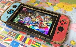 คุณพ่อเซอร์ไพรส์ ลูกชายที่สร้าง Nintendo Switch จากกระดาษ ด้วยเครื่องของจริง