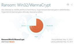 เผยข้อมูล ไวรัส WannaCry เล่นงาน Windows 7 มากกว่า Windows XP