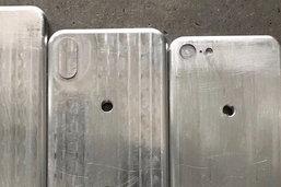 หลุด ภาพแม่พิมพ์ตัวเครื่อง iPhone 8, iPhone 7s และ iPhone 7s Plus