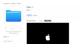 หลุดแอป Files ตัวใหม่ของ Apple บน App Store ก่อนงาน WWDC คืนนี้
