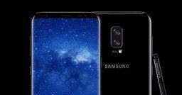 ภาพหลุด โปสเตอร์ Galaxy Note 8  กล้องหลังคู่ สแกนลายนิ้วด้านหลังเครื่อง