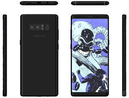 สื่อนอกเผย Galaxy Note 8 จ่อมาพร้อมสีใหม่ Deep Blue