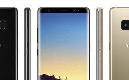 เจ้าพ่อข่าววงใน เผยภาพเรนเดอร์ Galaxy Note 8 ให้ดูชัดๆทุกมุมมอง