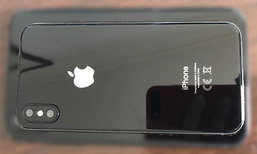 เผยภาพ iPhone 8 ตัวเป็นๆ ครั้งแรก! กับบอดี้แบบ Glass Design สุดหรู, กล้องคู่ และสแกนม่านตา