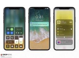 iPhone 8 จะมีปุ่ม Home ที่ปรับขนาดได้ และระบบจดจำใบหน้าสำหรับ Apple Pay