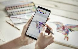 เปิดตัว Galaxy Note 8 หน้าจอไร้ขอบพร้อมกล้องคู่และ S Pen ที่ฉลาดกว่าเดิมมาก