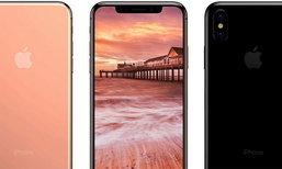 กระจ่าง มาดูกันว่า iPhone 8 ที่มีรอยบากด้านบนจะมีการแสดงผลเวลาและแบตเตอรี่อย่างไร