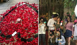 หนุ่มจีนโชว์ป๋าเหมา iPhone X 25 เครื่องสู่ขอแฟนแต่งงาน