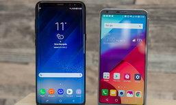 เผยรายงานมือถือใหม่จาก Samsung และ LG ที่เตรียมตบเท้าเข้างาน CES 2018