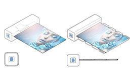 Samsung กำลังทำจอภาพที่สามารถพับได้ และมีระบบสแกนลายนิ้วมือ