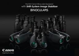 Canon เปิดตัวกล้องส่องทางไกลพร้อมระบบป้องกันภาพสั่นไหวแบบเลนส์โปร