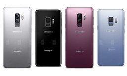 ชมภาพ Samsung Galaxy S9 ทุกสีที่คาดว่าจะเปิดตัวในปลายเดือนนี้
