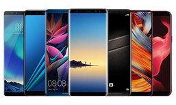 แนะนำ 7 สมาร์ทโฟน RAM 6GB กับดีไซน์จอใหญ่ไร้ขอบแบบ 18:9 พร้อมขายแล้ววันนี้
