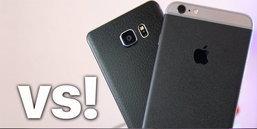 มาดูกันภาพจาก iPhone 6s Plus vs Galaxy Note 5 ใครดีที่สุด