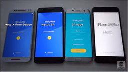Samsung Galaxy S7 edge และ iPhone 6s Plus ถูกจับดวลความเร็วแบบช็อตต่อช็อต!