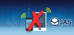 JAS เบี้ยวจ่ายค่างวดประมูล 4G คลื่นความถี่ 900 MHz ตามคาด!