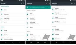 เผยหน้าจอตั้งค่าของ Android N เวอร์ชั่นถัดไปดูดีน่าใช้ขึ้น
