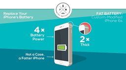 เพิ่มพลังแบต iPhone 6 ให้อยู่นานข้ามวันด้วย Fat Battery