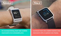 Pebble เปิดจอง Smart Watch รุ่นใหม่ เน้นใช้กับฟิตเนสโดยตรง