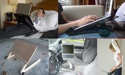 [Notebook Tips] 3 วิธีใช้โน๊ตบุ๊ก นอน นั่งหรือขับรถ ไม่ต้องกลัวร้อน