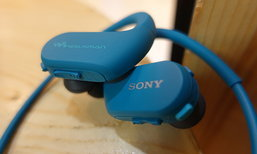 รีวิว Sony Walkman WS-413 เครื่องเล่นเพลง เพื่อคนรักสุขภาพ