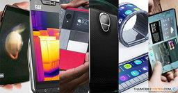 6 สมาร์ทโฟนสุดแปลกดีไซน์ล้ำที่มีอยู่จริง พร้อมฟีเจอร์การใช้งานที่ปฏิวัติวงการ!