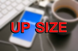iPhone Up Size อัพความจุหรือหน้าจอใหญ่ขึ้นได้ทันที