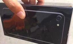 แกะกล่อง iPhone 7 และ 7 Plus สี Jet Black ก่อนขายจริง(สวยสมการรอคอย)