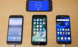 มาดูผลการทดสอบชาร์จไฟระหว่าง Samsung Galaxy S7 edge vs iPhone 7 vs Pixel XL ใครไวสุด