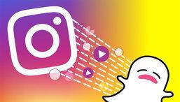 Instagram Stories ทำสำเร็จ แย่งจำนวนผู้ชมจาก Snapchat ได้หลังเปิดตัว