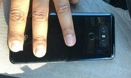 หลุด! ภาพด้านหลังของ LG G6 แบบเงาวับ พร้อมโลโก้ G6 ชัดเจน