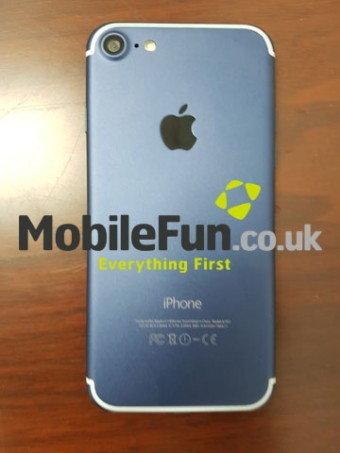 หลุด iPhone 7 รุ่นใหม่เครื่องสีฟ้า