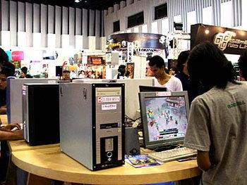 งานบางกอกเกมโชว์ 2005 ศูนย์รวมคนรักเกมตัวจริง