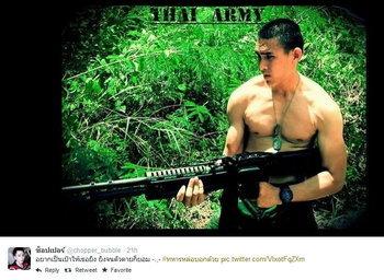 #ทหารหล่อบอกด้วย