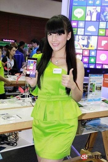 พริตตี้งาน Thailand Mobile Expo 2014