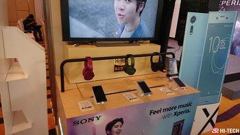 ตัวอย่างภาพถ่ายจาก Sony Xperia XZs