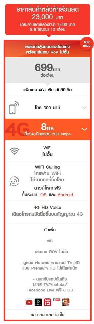 ราคา iPhone 7 Truemove H