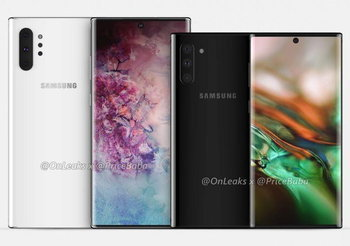 Samsung Galaxy Note 10 Pro และ Galaxy Note 10