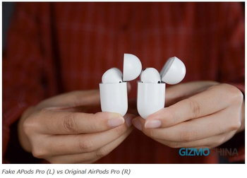 AirPods Pro Vs KnockOff