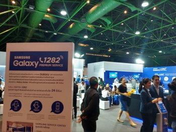 บูธ Samsung ที่ไม่เพียงแค่สินค้า แต่บริการก็เยี่ยมสุด